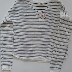 SO vneck pullover sweater NWT